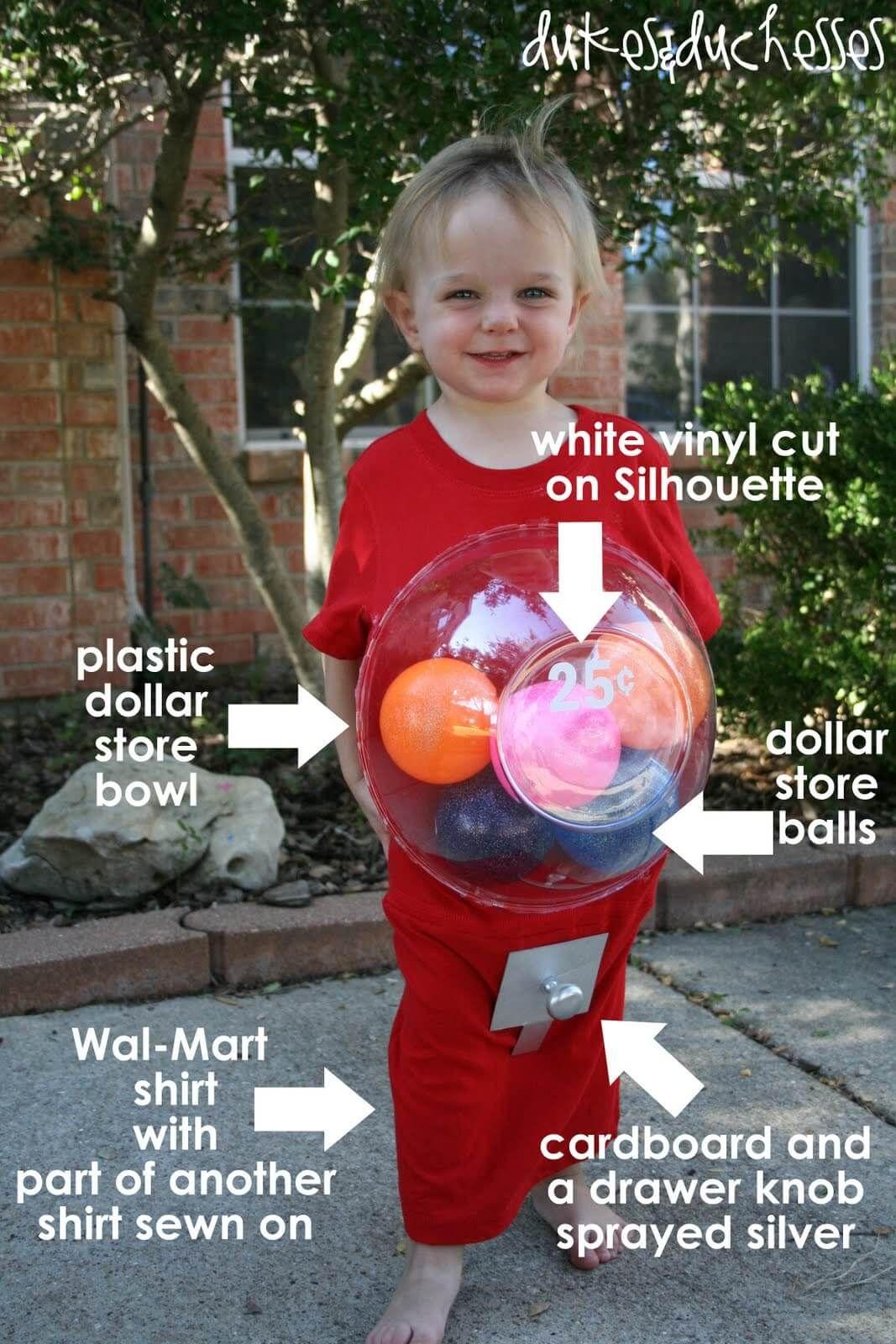 [33+] Homemade Bubble Gum Machine Halloween Costumes #mamp;mcostumediy