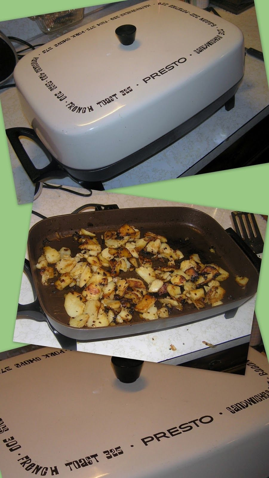 Electric Skillets Are Great Little Appliances To Have Around The Kitchen The Electric Skillet Is Great For Cooking F Skillet Dinner Recipes Skillet Meals Food