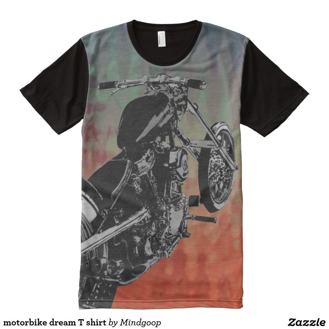motorbike dream T shirt