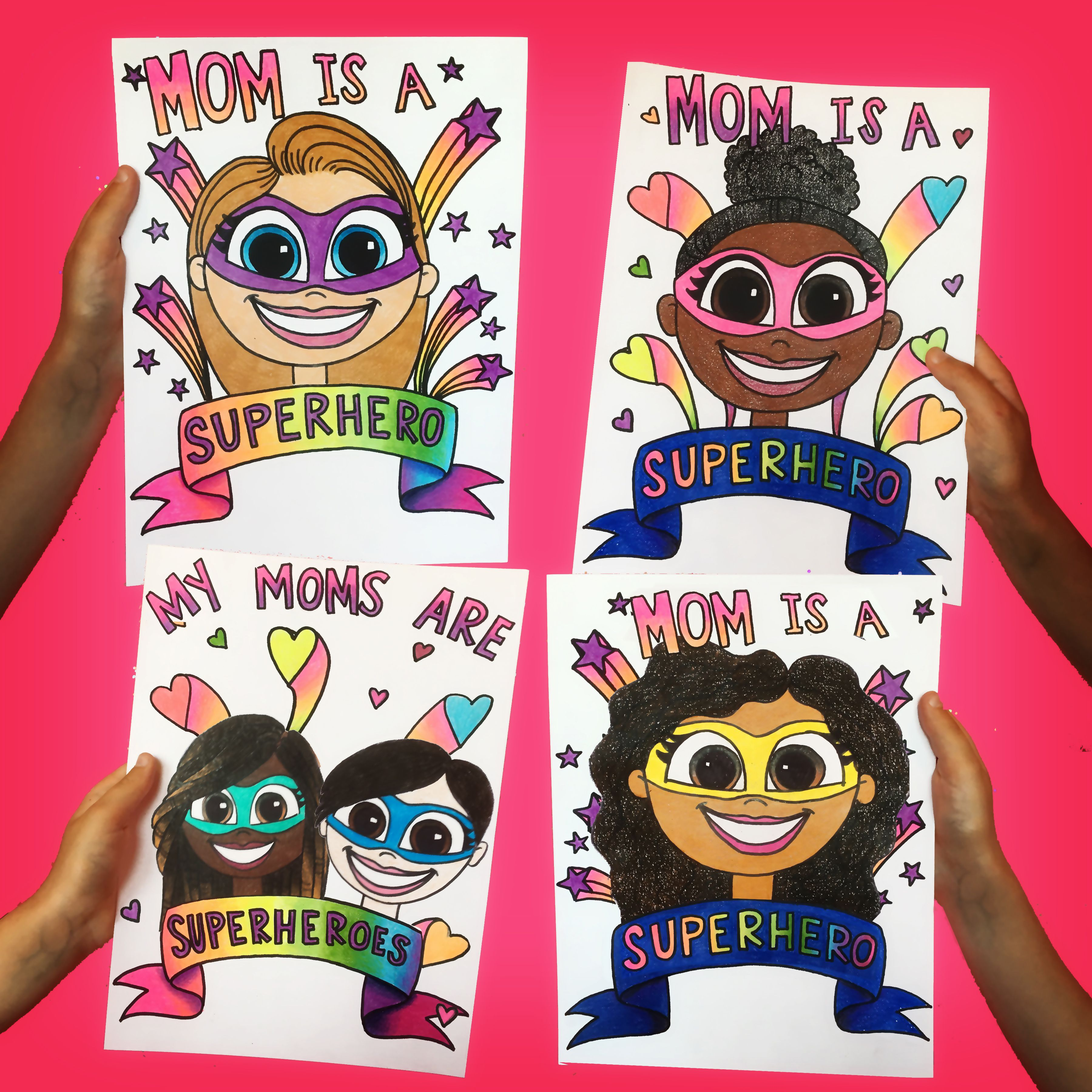 How To Draw Mother S Day In