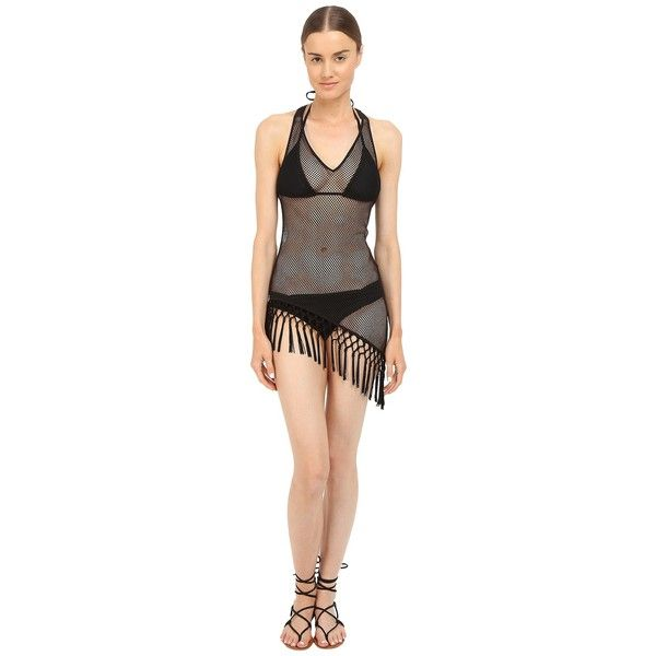 9f6ae16955018 L'Agent by Agent Provocateur Tasia Cover-Up (Black) Women's Swimwear ...