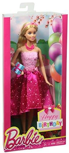 Barbie Happy Birthday Doll Multi Color Free Shipping