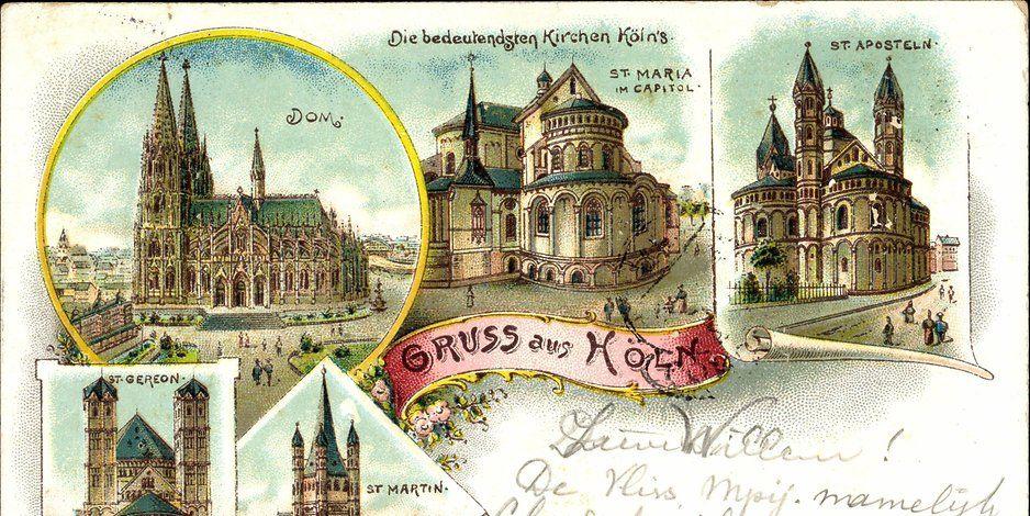 Koln Postkarte Postkarten Karten Poster