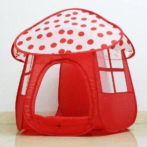 adorable mushroom play tent #kids #tent & adorable mushroom play tent #kids #tent | Green Eggs and Ham ...