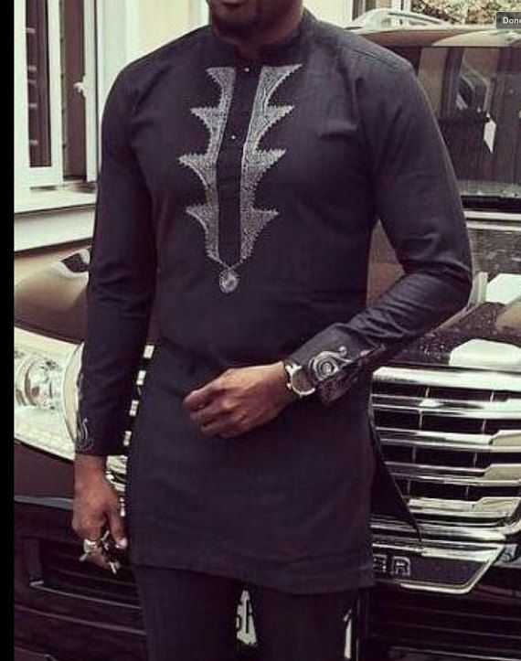 Men African Wear Men African Attire African Men Fashion African Men Clothing Shirt And Pants