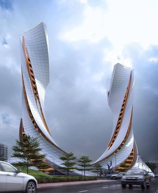 Hizdahr tower design by hugo marentes see more for Amazing architecture design