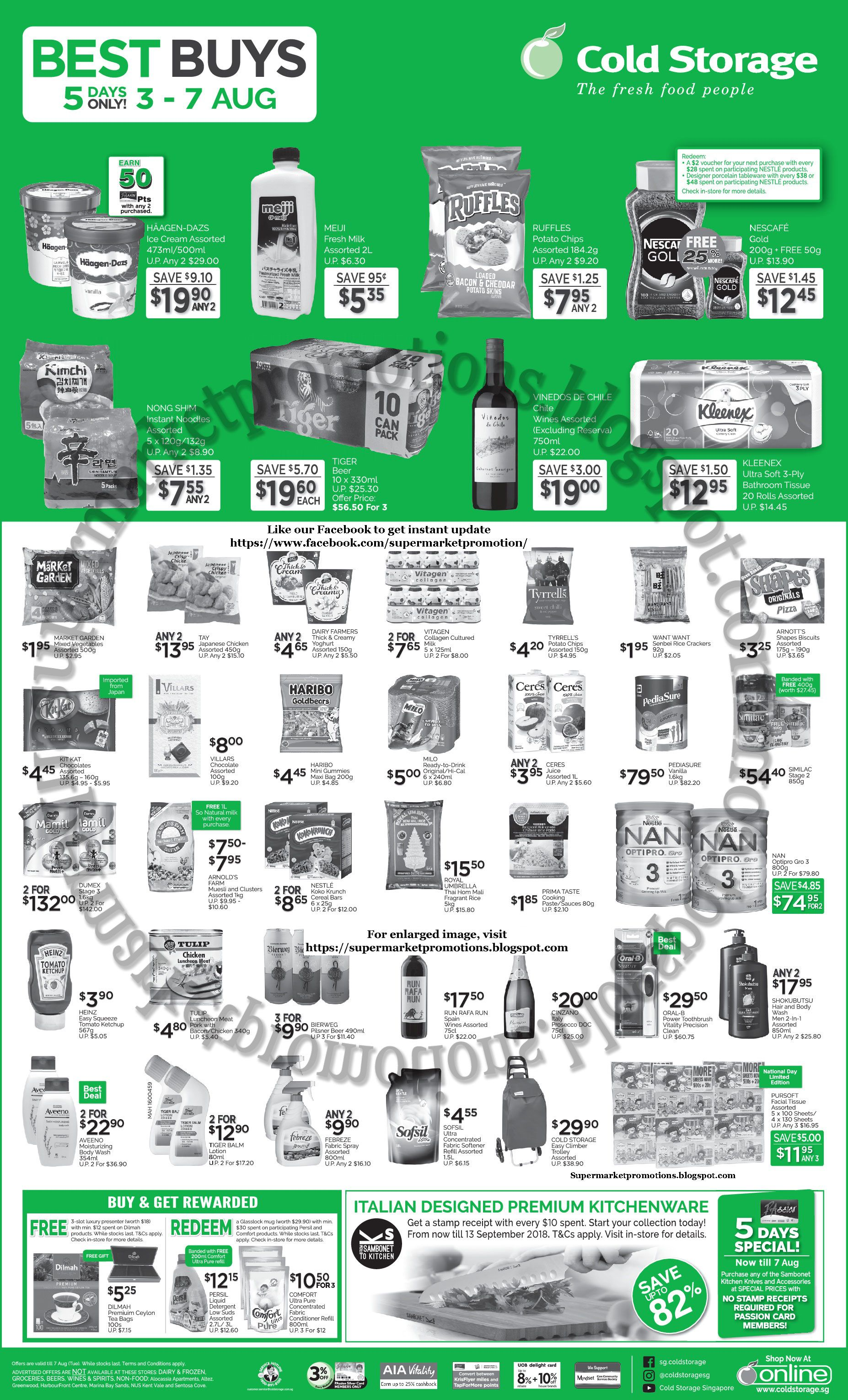 Cold Storage supermarket promotion Cold Storage Promotion 03 - 07 August 2018 Offers valid from 03  sc 1 st  Pinterest & Cold Storage supermarket promotion Cold Storage Promotion 03 - 07 ...