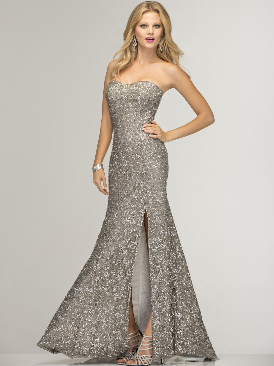 Pin by samantha on gowns pinterest silver formal dresses gowns