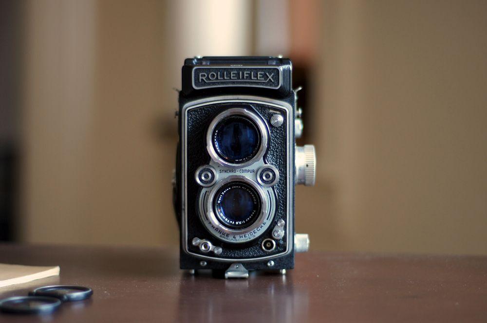 Rolleiflex.