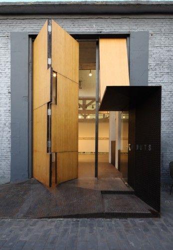 Studio X Beijing   OPEN Architecture Fachadas, Madera y Arquitectura - fachada madera