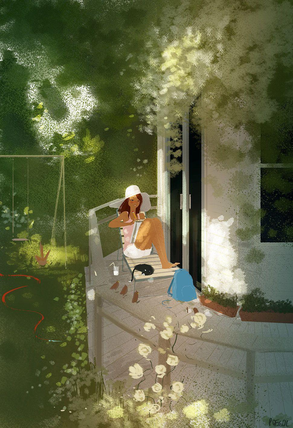Porch Story - Pascal Campion Illustration