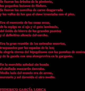 Poemas De Federico Garcia Lorca Garcia Lorca Poemas