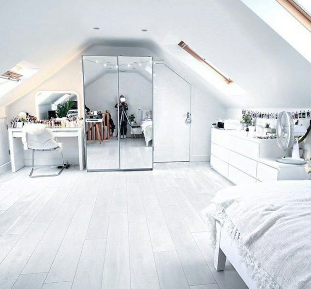 ♡pinterest Cyberbre House And Home Attic Bedroom