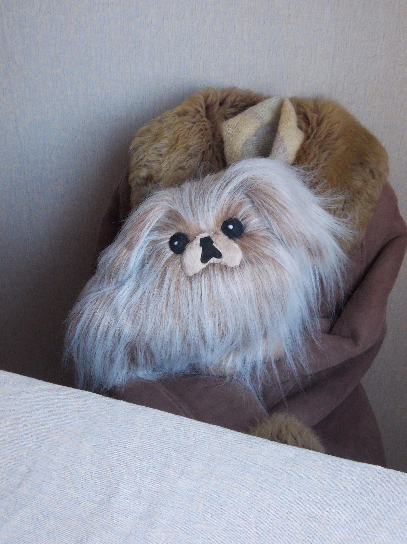 Dog Stuffed Animal Pekingese Fur Animal Fur Dog Plush Etsy Plush Dog Dog Stuffed Animal Pekingese
