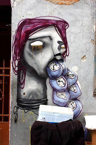 Street art | Mural (Brás, São Paulo, Brazil, 2010) by Magrela