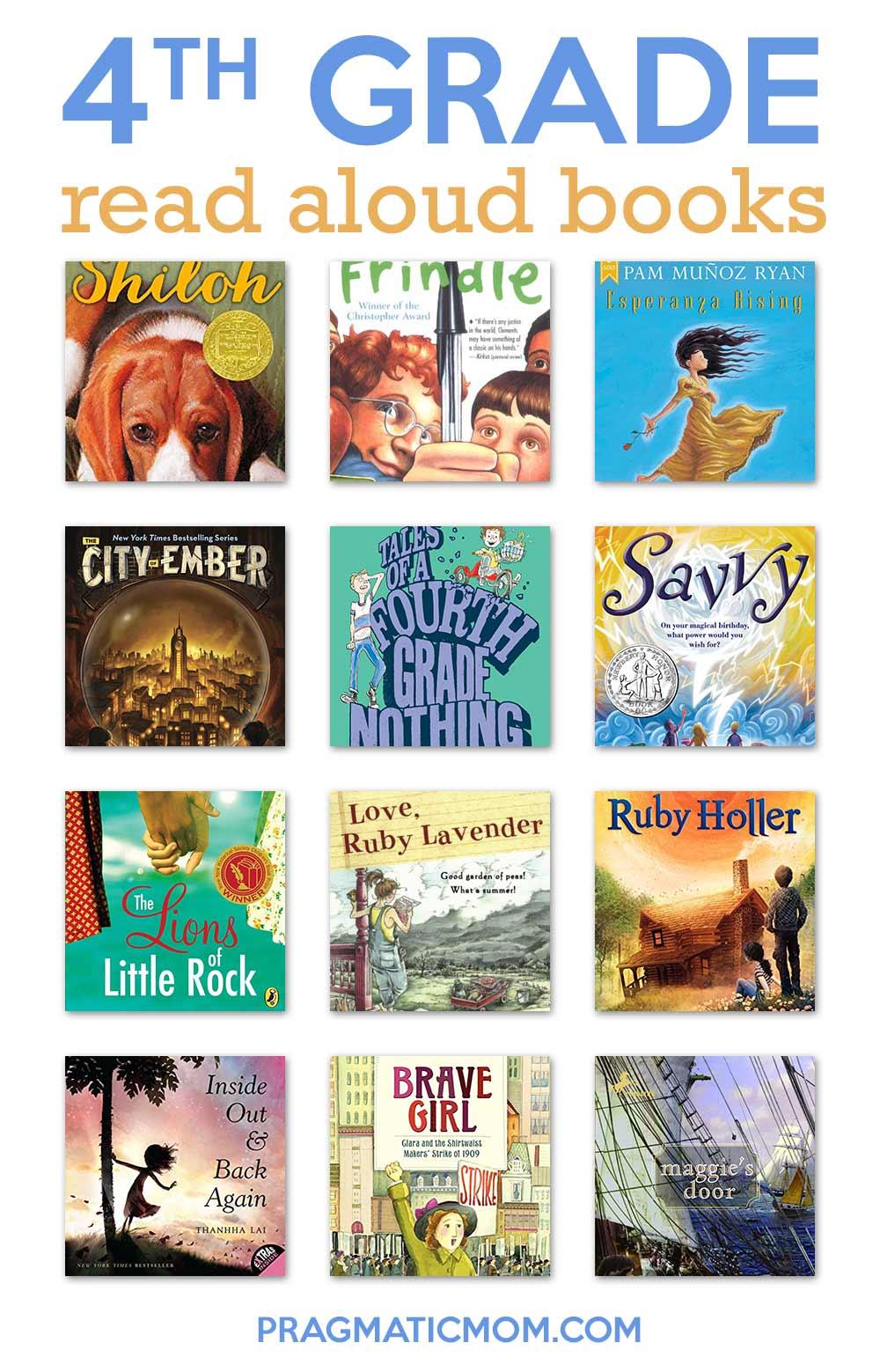 10 Perfect Read Alouds For 4th Grade 4th Grade Reading Read Aloud Chapter Books Read Aloud Books