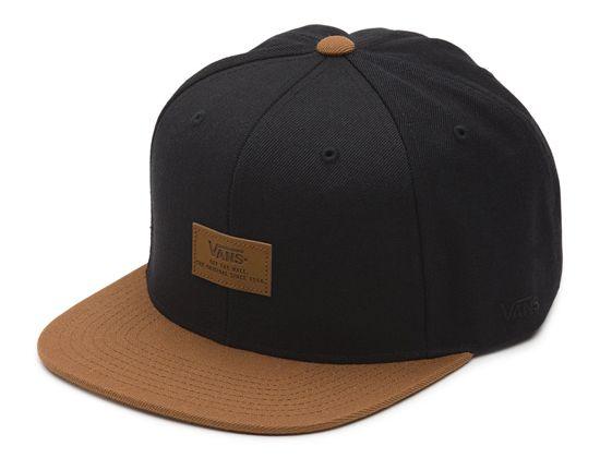 Blackout Snapback Cap by VANS  61349ac1fae1
