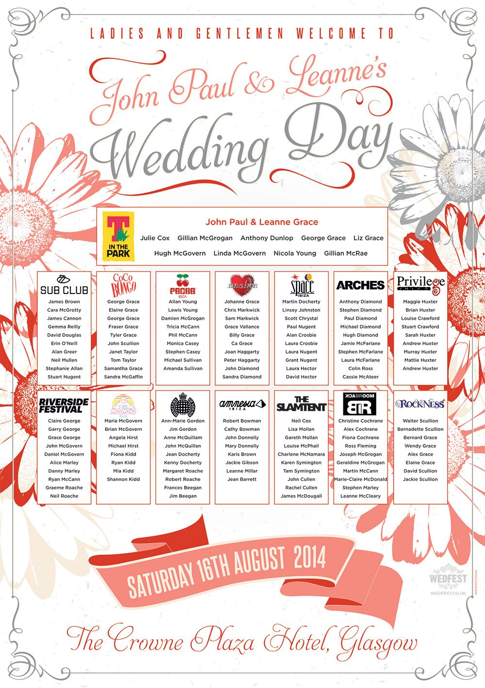 Pin by WEDFEST on Wedding Table and Seating Plans | Pinterest ...