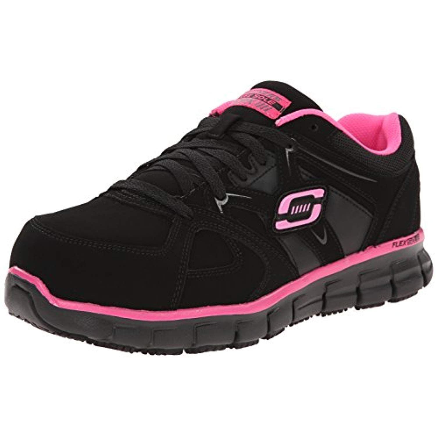 for Work Women's Synergy Sandlot Alloy Toe Laceup Work