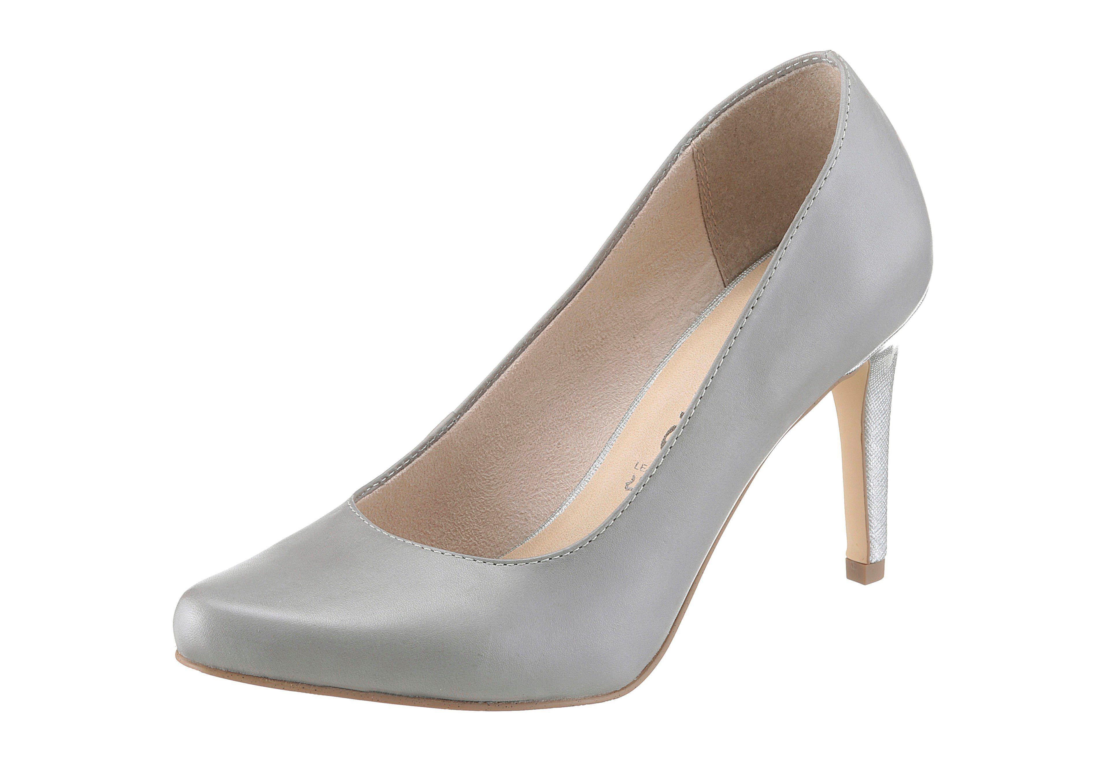 2cb02807e3262f Schuhe24 Damen Sling-Pumps von tamaris beige