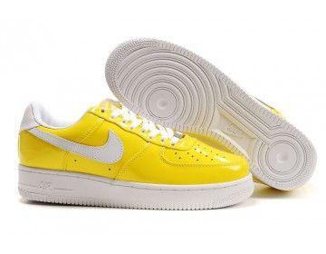 meet 0c7c1 7ff10 Nike Air Force 1 Low Mens Womens Slam Jam Shoes - Yellow