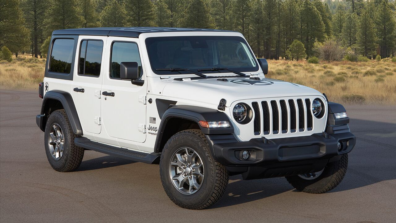The 2020 Jeep Wrangler Freedom Helps Support The Troops Jeep Wrangler Jeep Jeep Wrangler Sahara