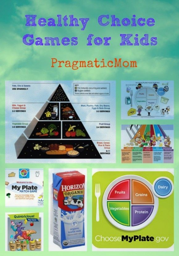 Healthy Choice Games For Kids Kids Nutrition Healthy Choices Healthy Kids