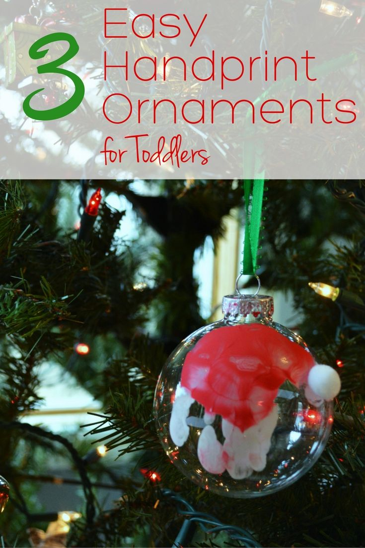 Easy toddler ornaments grandparents ornament and christmas gifts