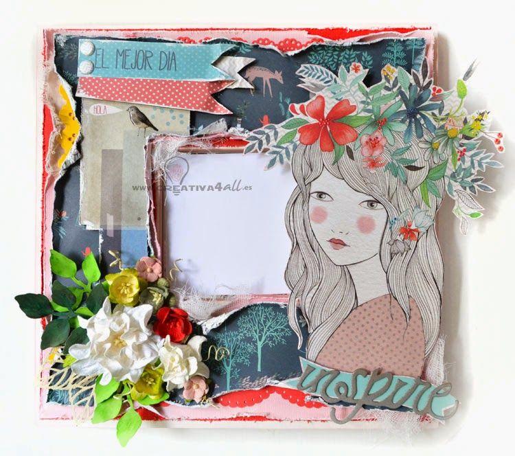 Creativa4all - Malma Ikea decorado scrapbooking colección La más ...