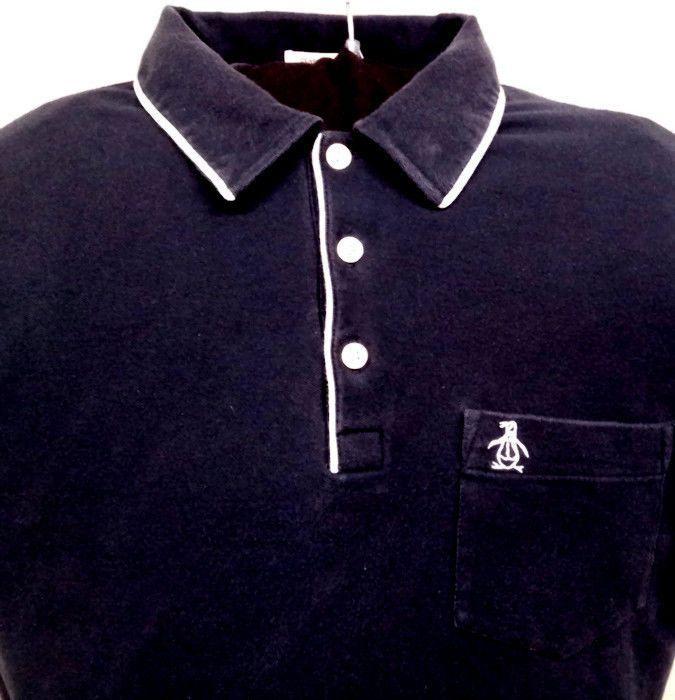 3bb860d49 Original Penguin Munsingwear Classic Fit Slim Polo Golf Shirt Navy Bllue  Large #MunsingWear #PoloRugby