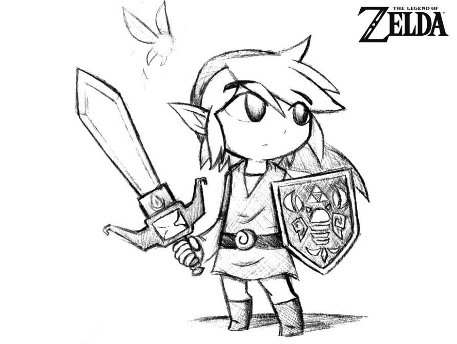 Free Printable Zelda Coloring Pages For Kids Coloring Pages Coloring Pages For Kids Concept Art Characters