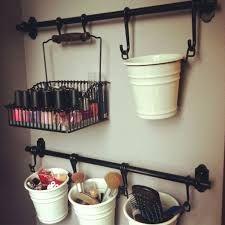 Image Result For Wall Mount Diy Makeup Shelf Makeup Organization Diy Diy Makeup Storage Make Up Storage