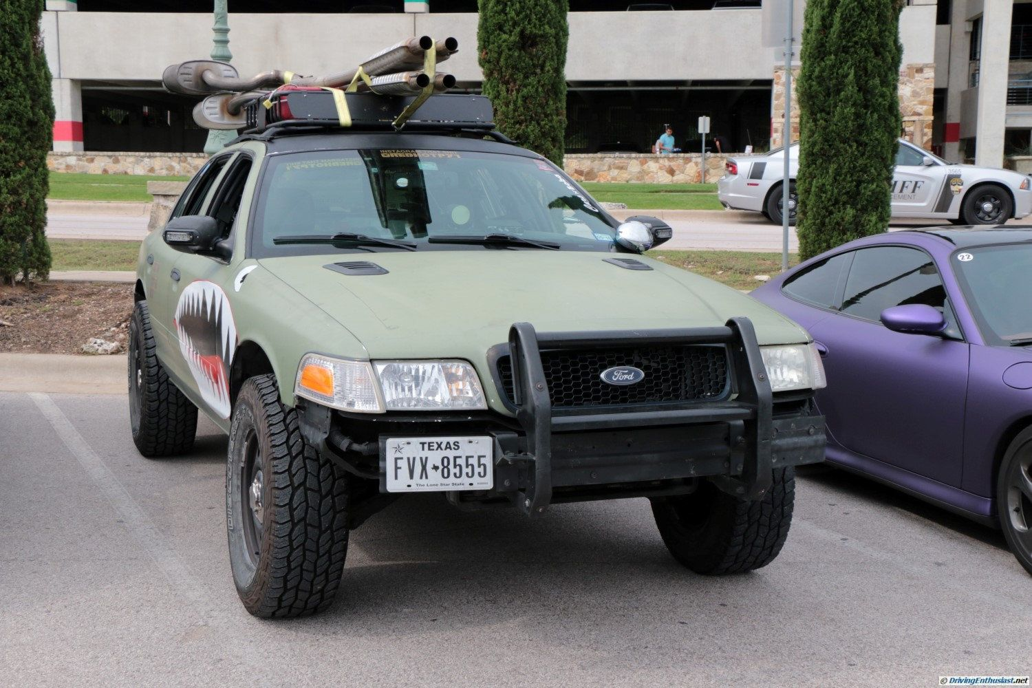 lifted cars crown vic ford customized mods rally offroad cool coffee visit