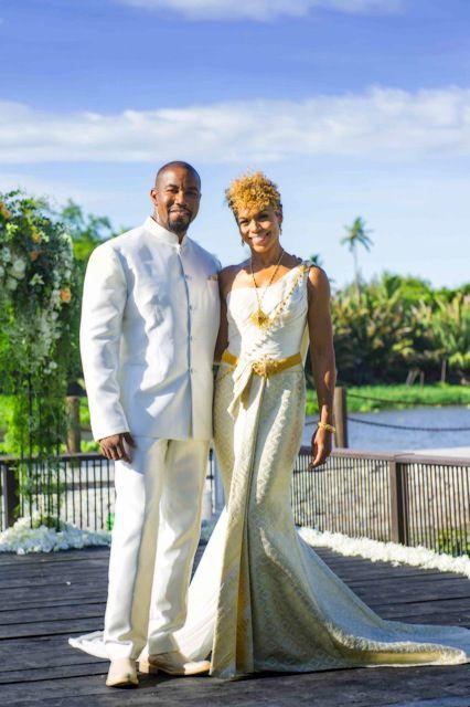 Michael Jai White and Gillian Waters Marry In Thailand #Wedding #HootKit