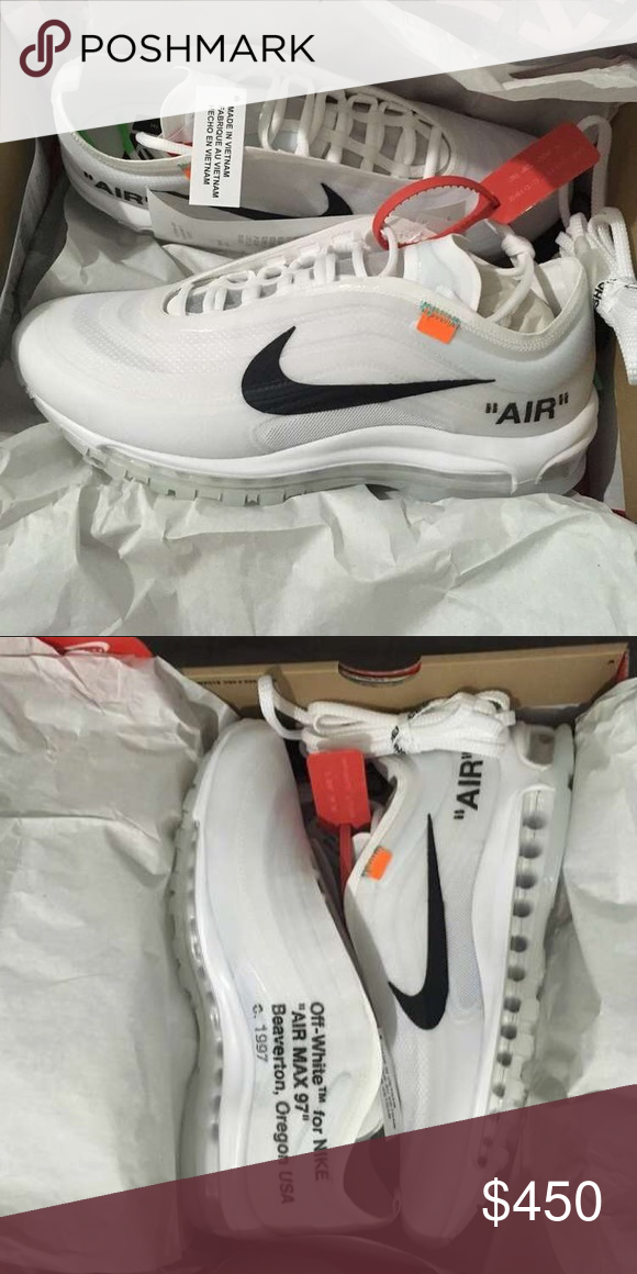 Off White x Nike Air Max 97 I have sizes 7-13 Available! Please text