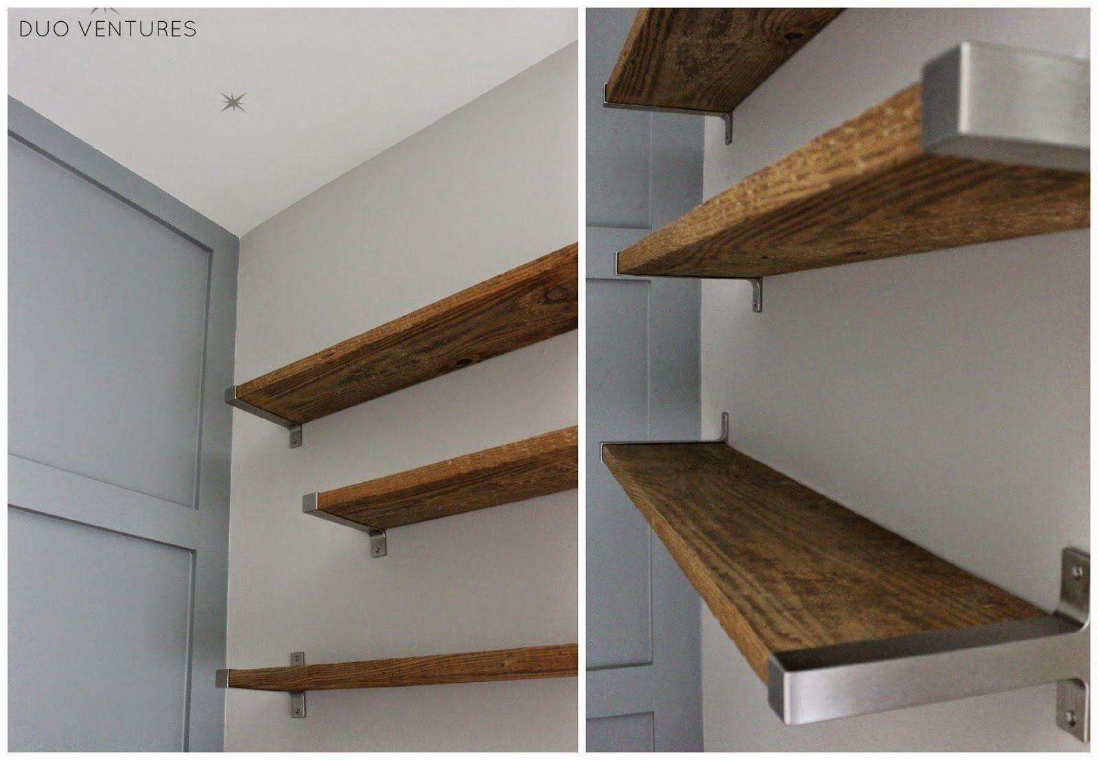 The Nursery Diy Reclaimed Barnwood Shelves Barnwood Shelves