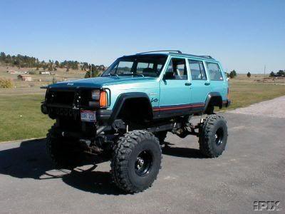 Jacked Up Xj Jeep Xj Jeep Suv Jeep Cherokee Xj