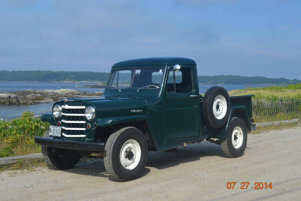 1950 willys jeep pickup truck