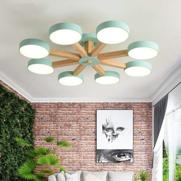 Modern Luxury Multi Stem Lamp Chandelier