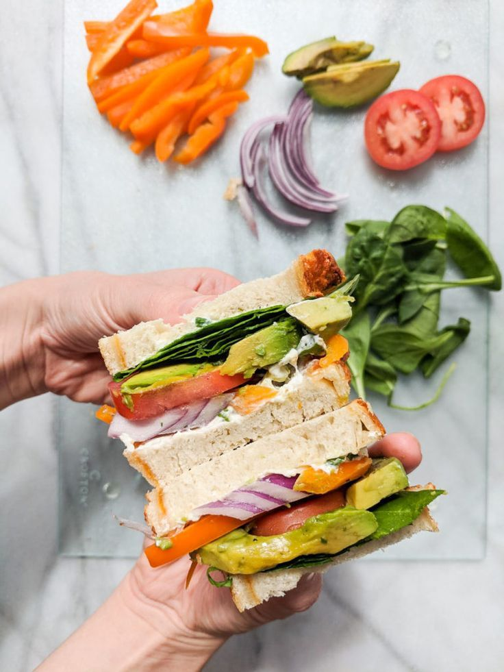 California Dreamin Veggie Sandwich