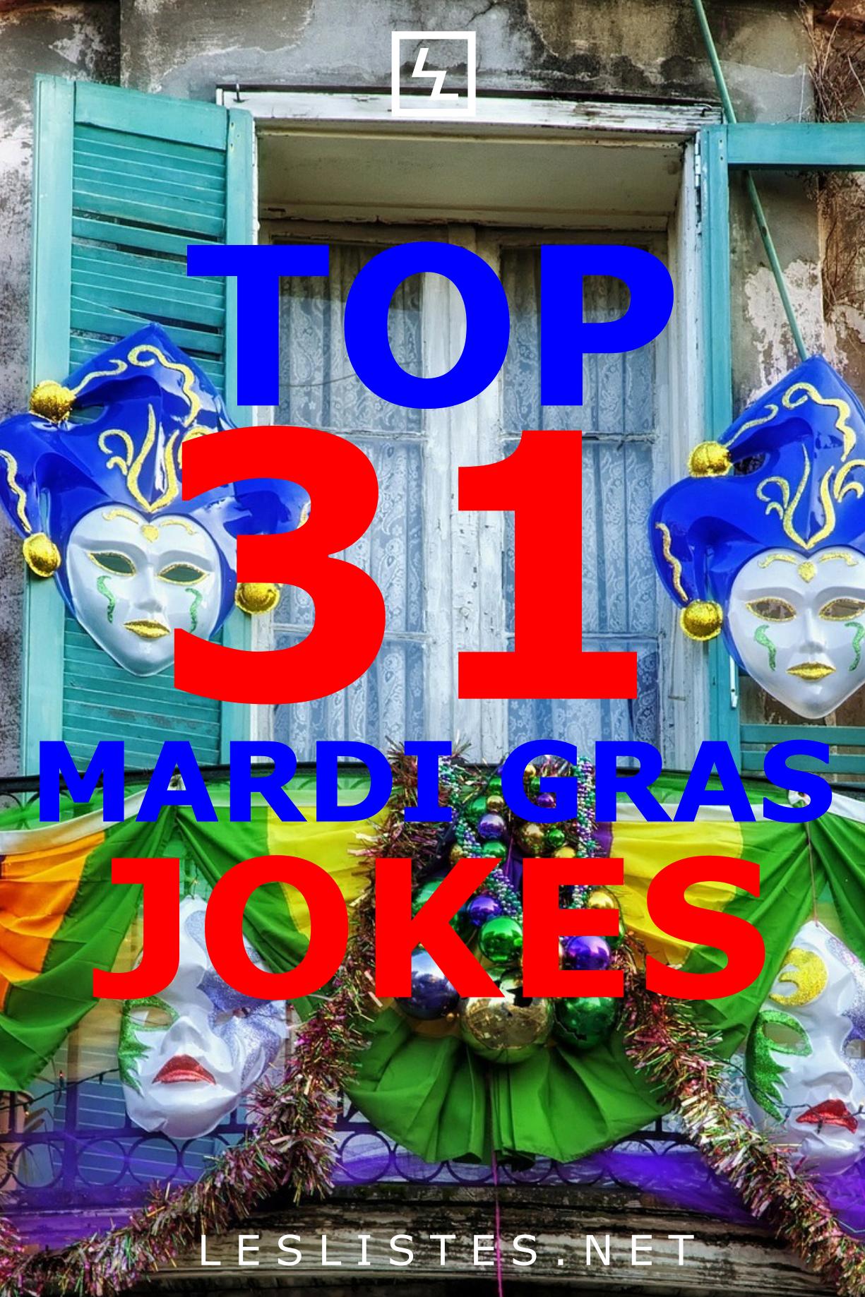 Top 31 Mardi Gras Jokes That Will Make You LOL