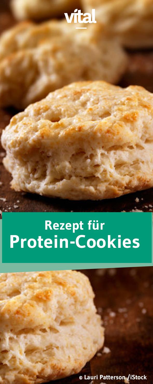 Backen mit Eiweißpulver: Protein-Plätzchen
