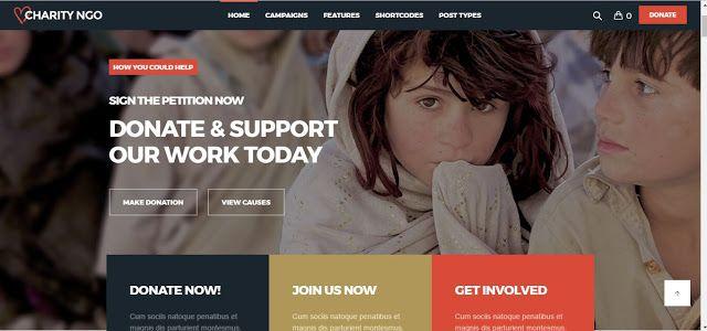 Charity NGO - Donation \ Nonprofit NGO Charity WordPress Theme - ngo templates