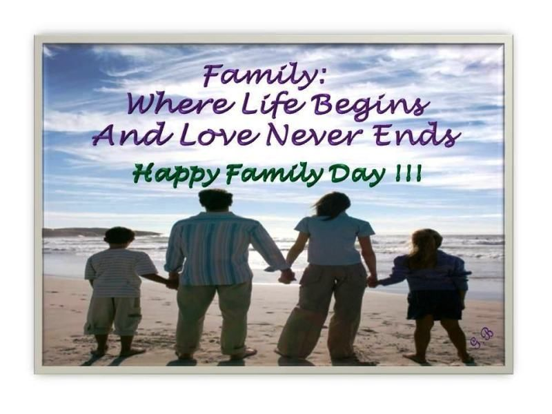 Happy International Day Of Families 2014 Hd Images Wallpapers Orkut Scraps Whatsapp Facebook Family Day Quotes Family Day Family Quotes