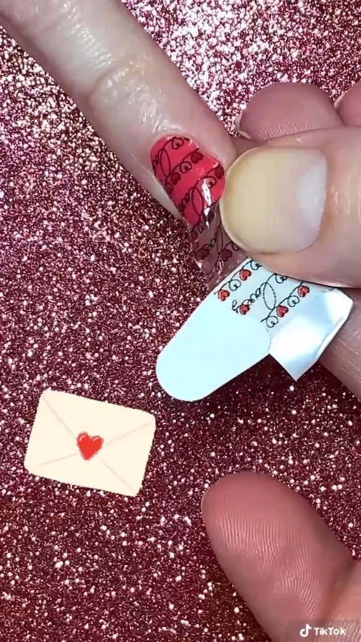 Color Street Valentines Manicure How to Apply