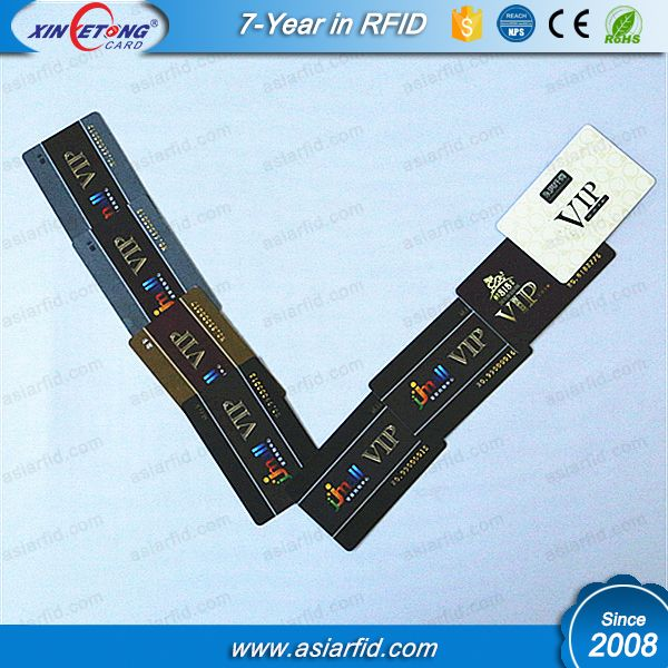 Customized Pvc Card Cr80 Size 0 76 Mm Thickness Vip Card Discount Vip Card Rfid Nfc Sticker