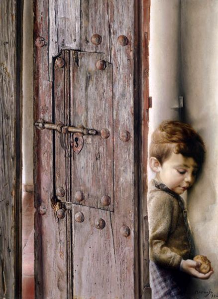 El hijo del pintor-Eduardo Naranjo (1944, Spanish)