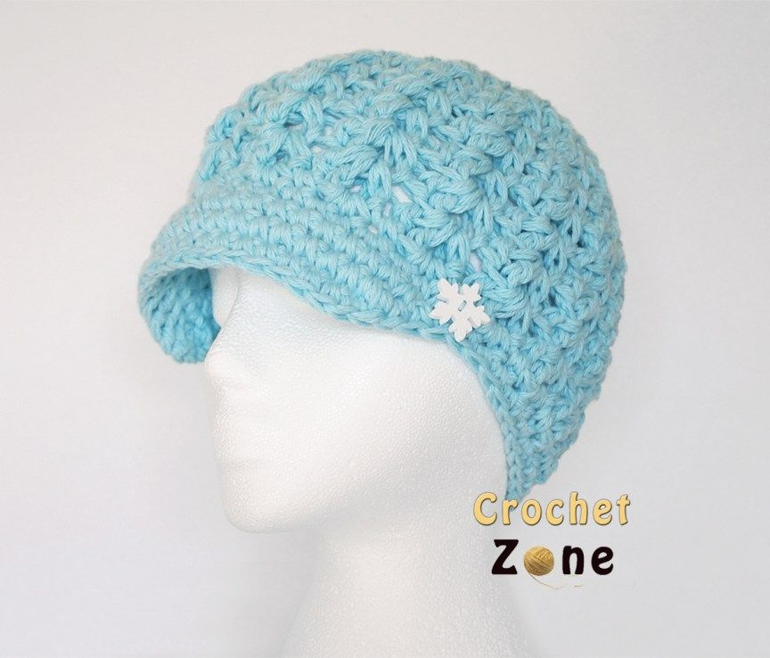 Free Crochet Pattern: Felicity Newsboy Hat | Crochet | Pinterest