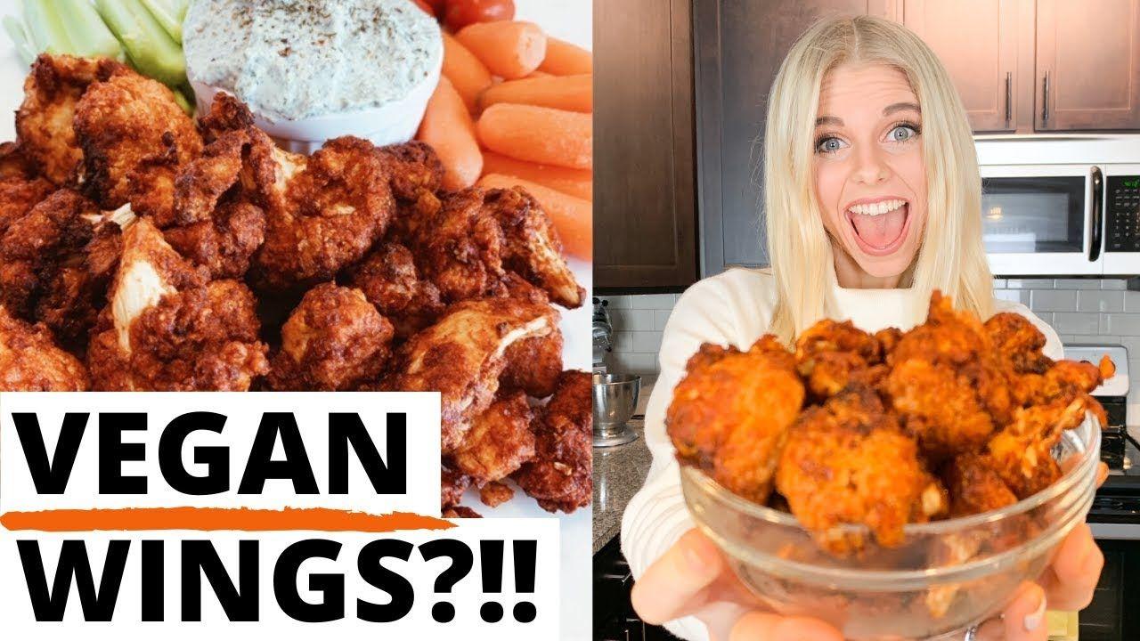 AMAZING Vegan Air Fryer CAULIFLOWER WINGS You MUST Try