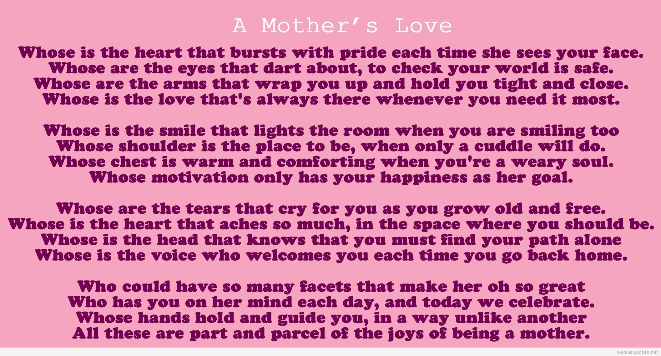 Mother Valentines Day Love Quote For Kailey Pinterest